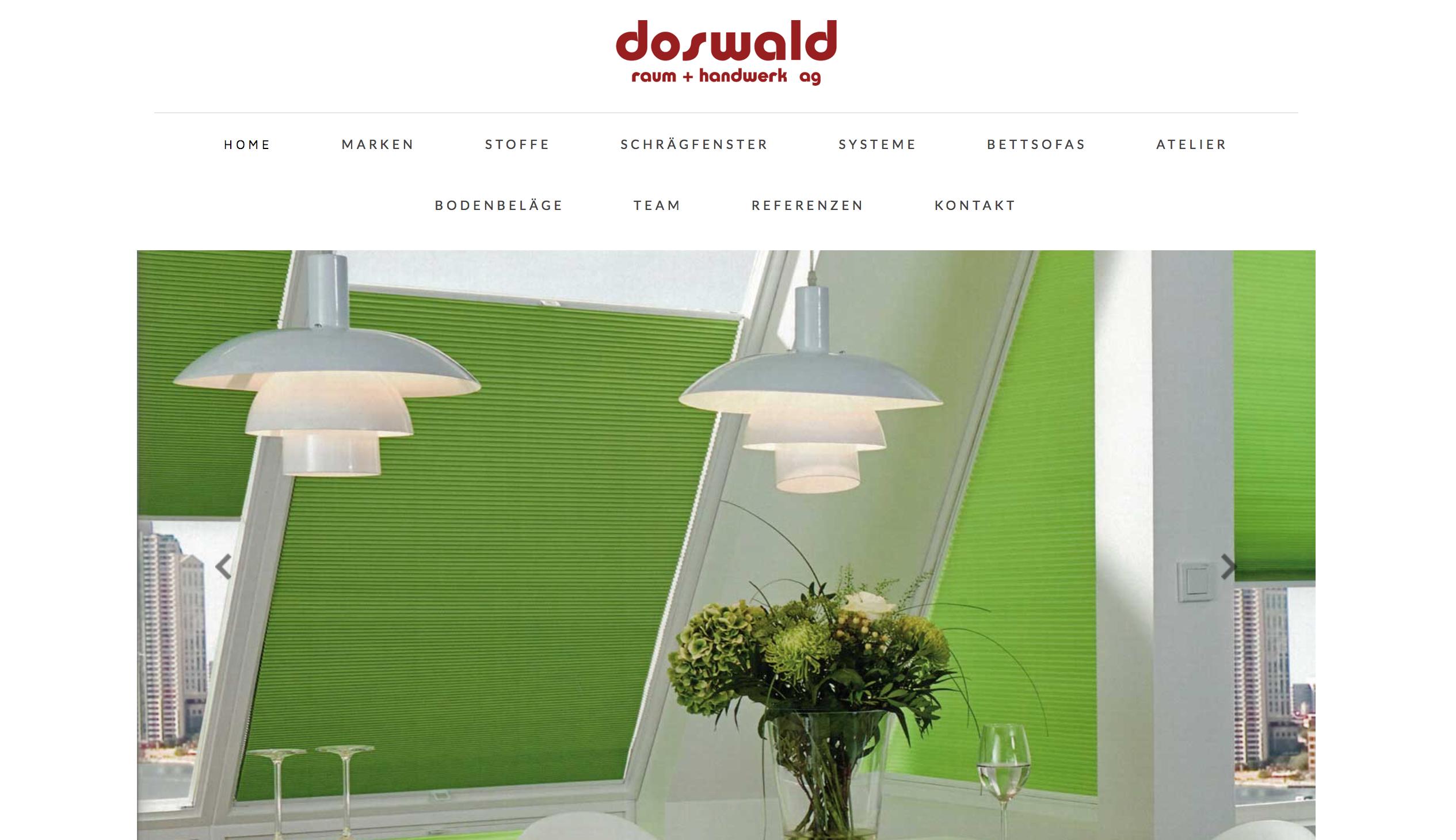 Doswald Raum + Handwerk AG